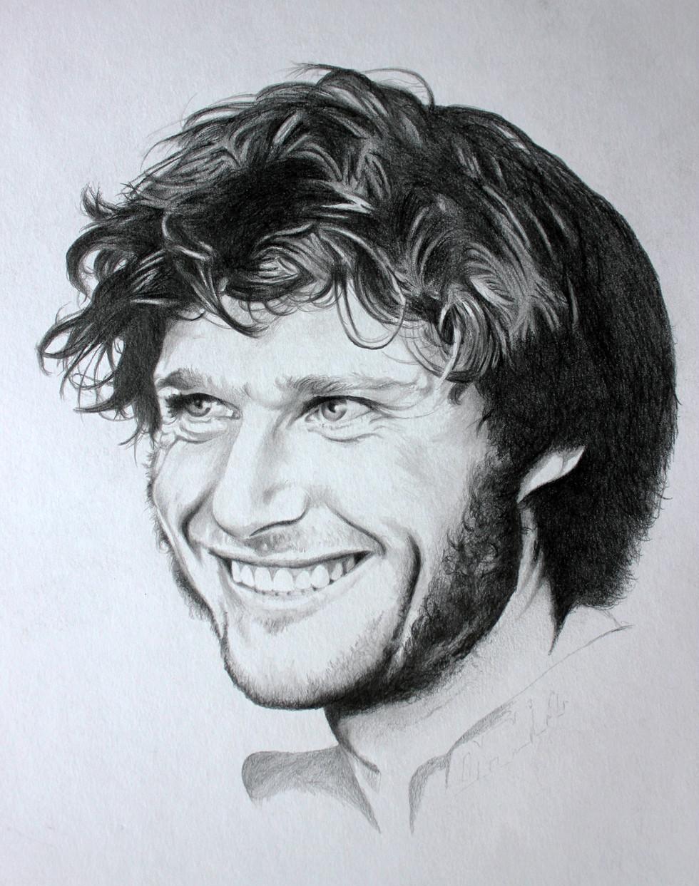 Guy Martin - portrait commission