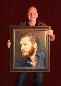 Tom Hardy has been framed.