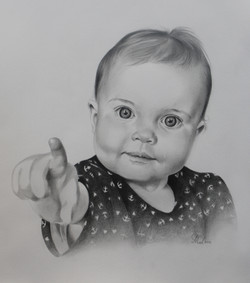 Baby portrait commission