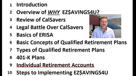 #1 - Intro to EZ$AVINGS4U