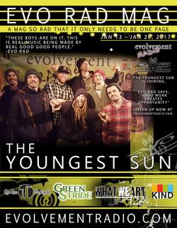 EVO RAD MAG - JAN 13 - 17 - THE YOUNGEST SUN - Evolvement Radio - 2017