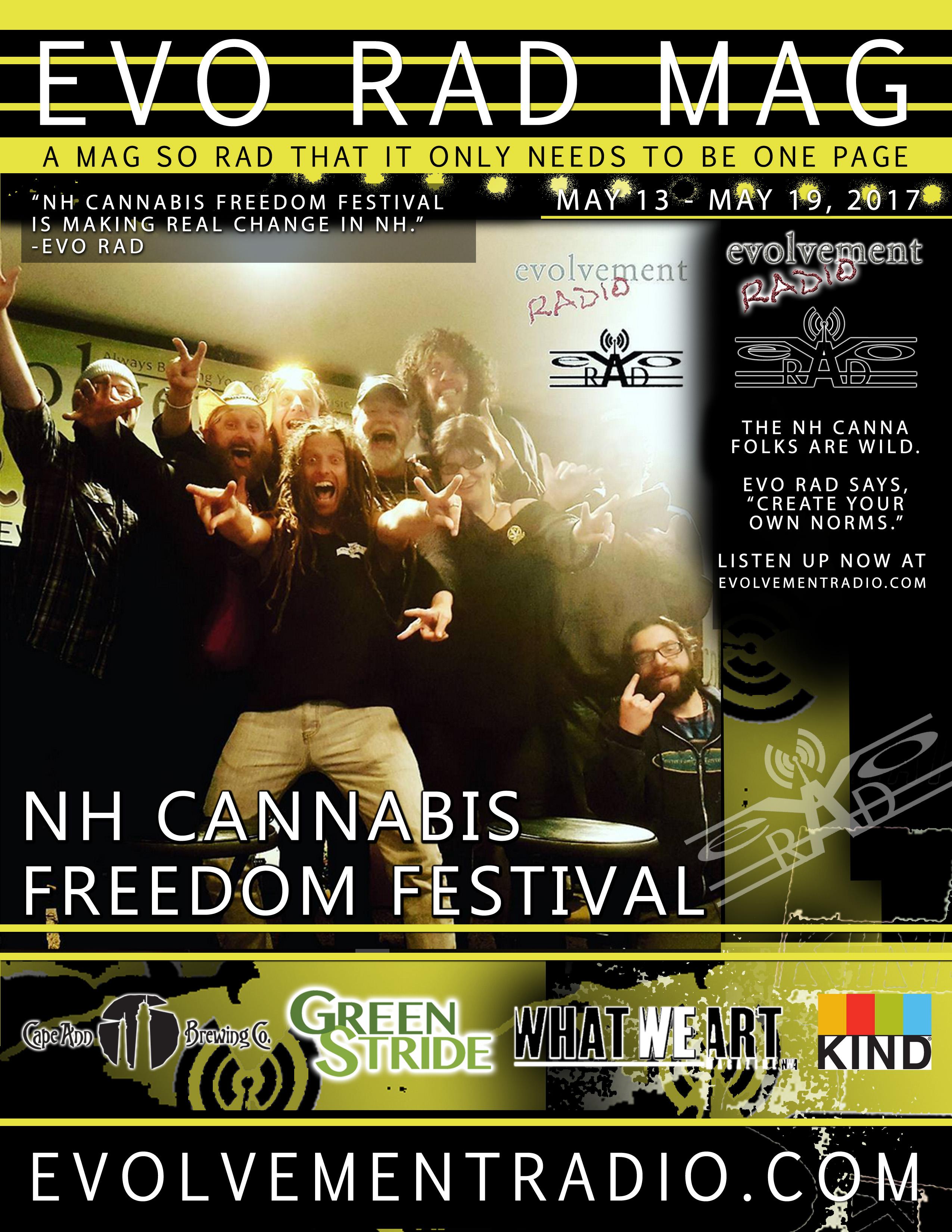 -  may 2017 - NH CANNABIS FREEDOM FESTIVAL - Evolvement Radio