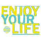 ENJOY YOUR LIFE - THUMB BASIC LOGO - FOR