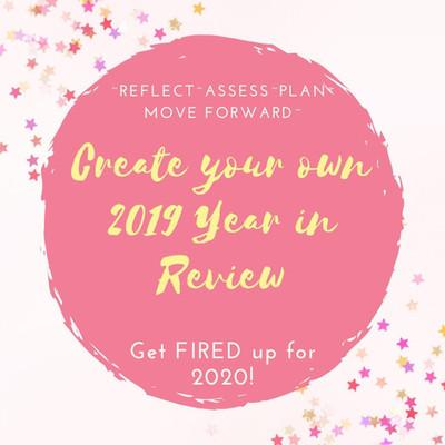 Create your own YEAR IN REVIEW-Sneak Peek!