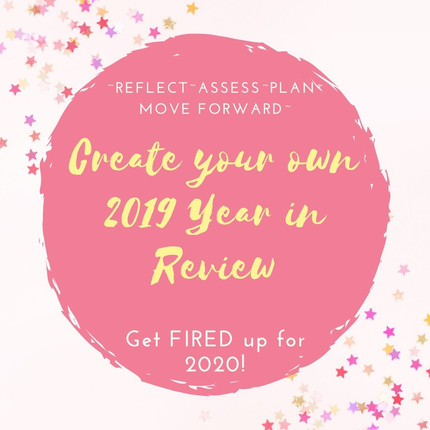 Create your own YEAR IN REVIEW-Sneak Peek!