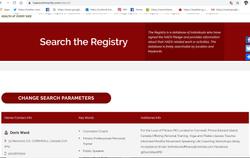 haes registry oct 2019