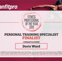 Canfitpro 2019 finalist Fitness Professi