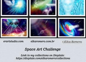 Space Art Challenge on Displate
