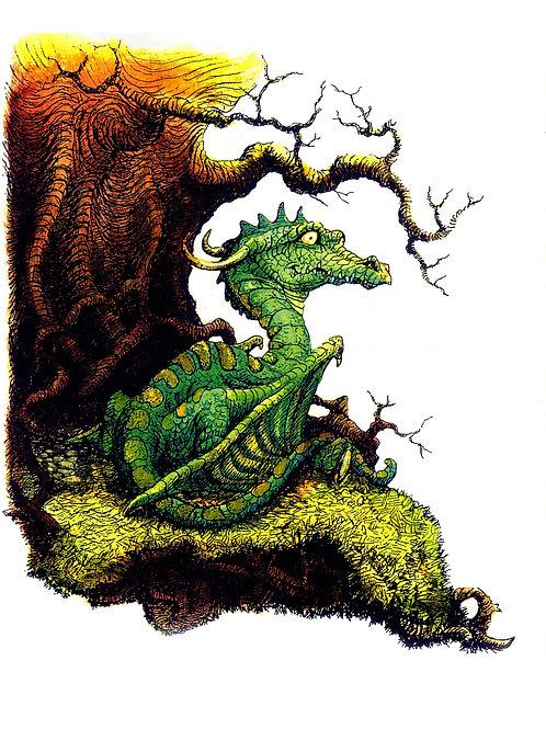Lil Green Dragon