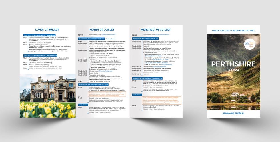 Programme Perthshire ESH