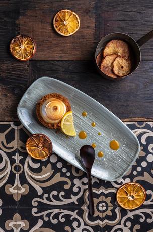 Dessert tarte au citron
