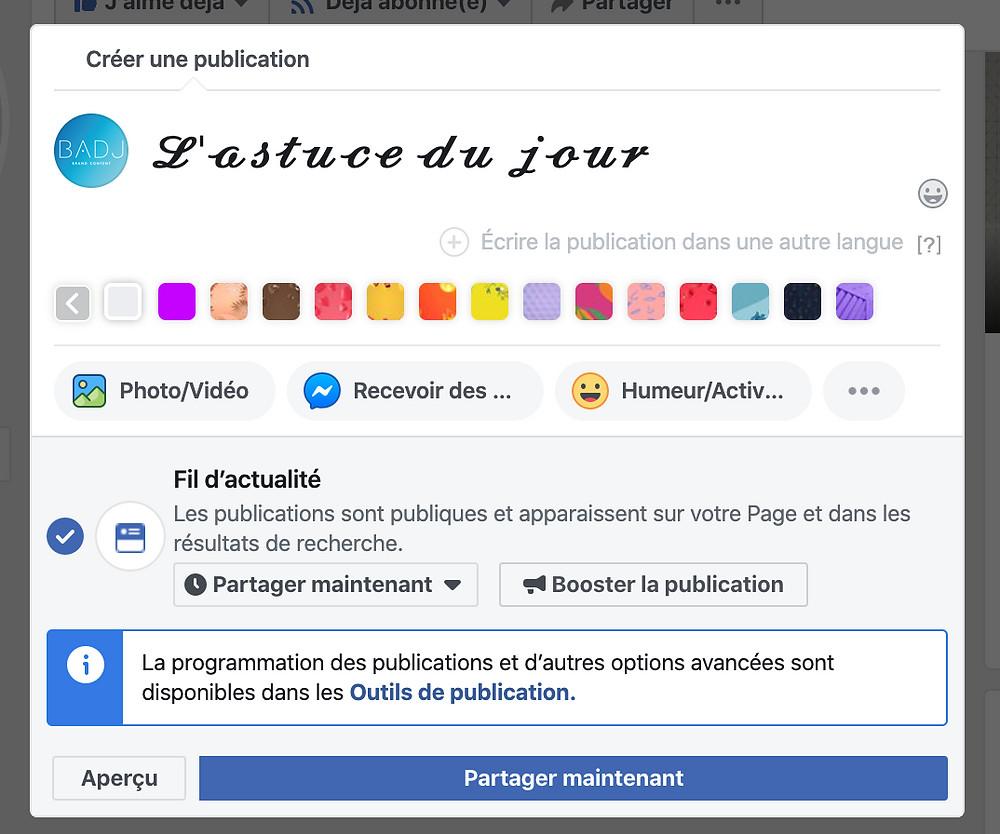 Utiliser des typos différentes dans ses posts facebook / Astuce