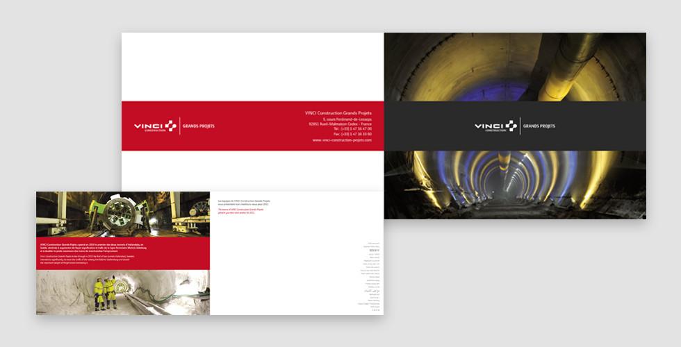 Vinci Grands Projets - Carte de voeux