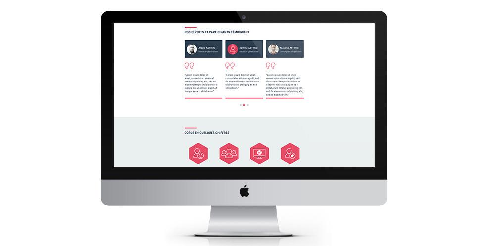 Homepage Oorus
