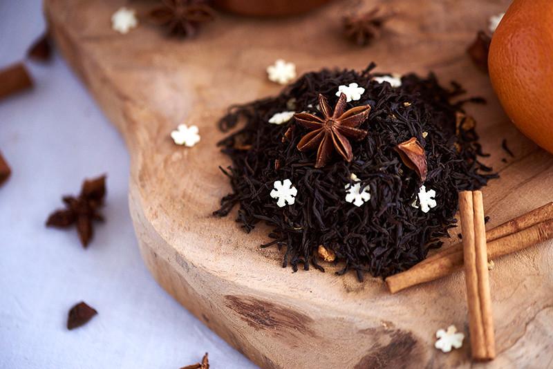 Thé et étoile de badiane