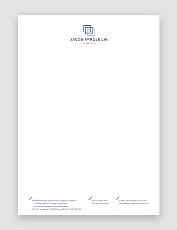 JAL - Papier en-tête