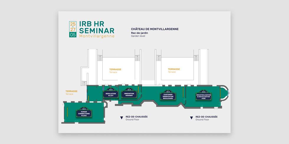 BNP Paribas - Plan des salles