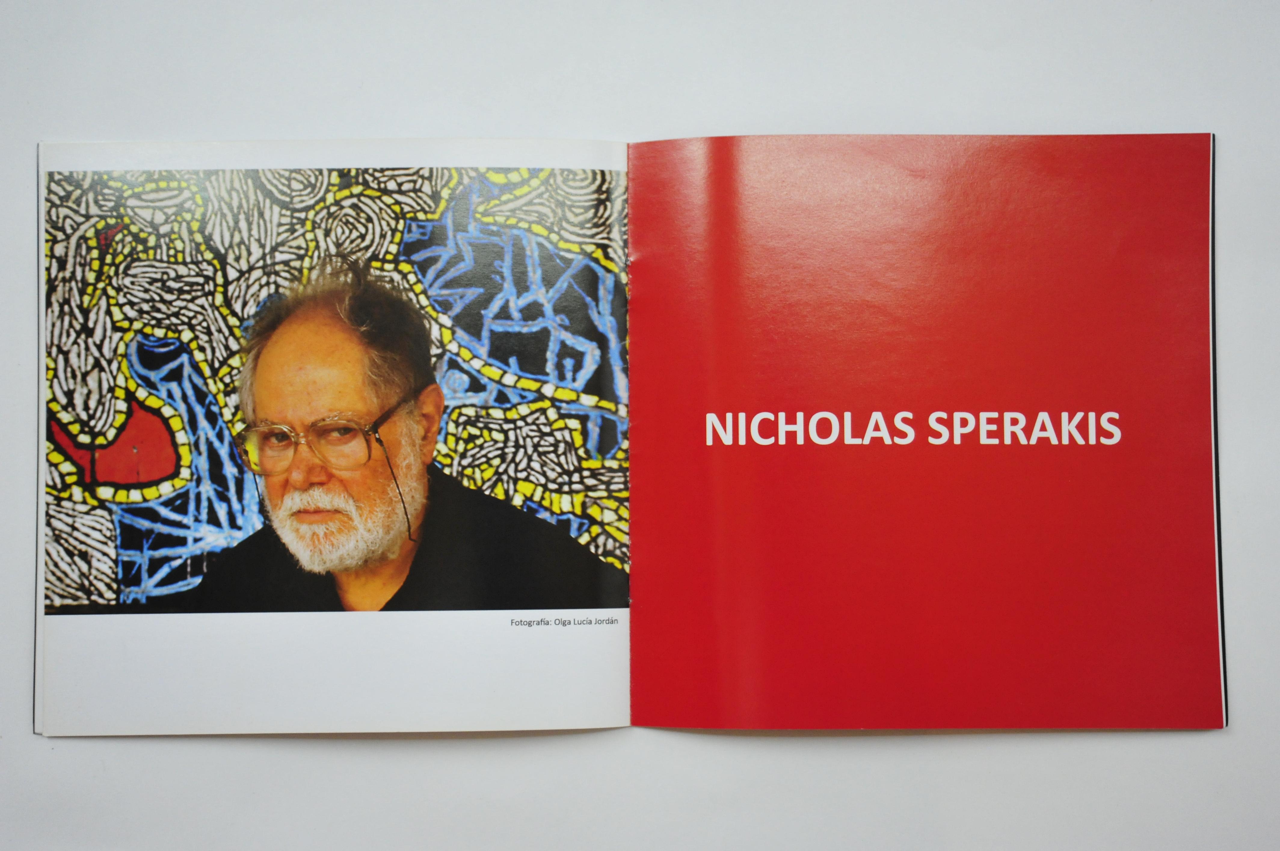 Brochure design - Nicholas Sperakis