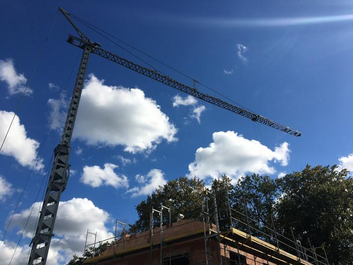 Neubau in Massivbauweise