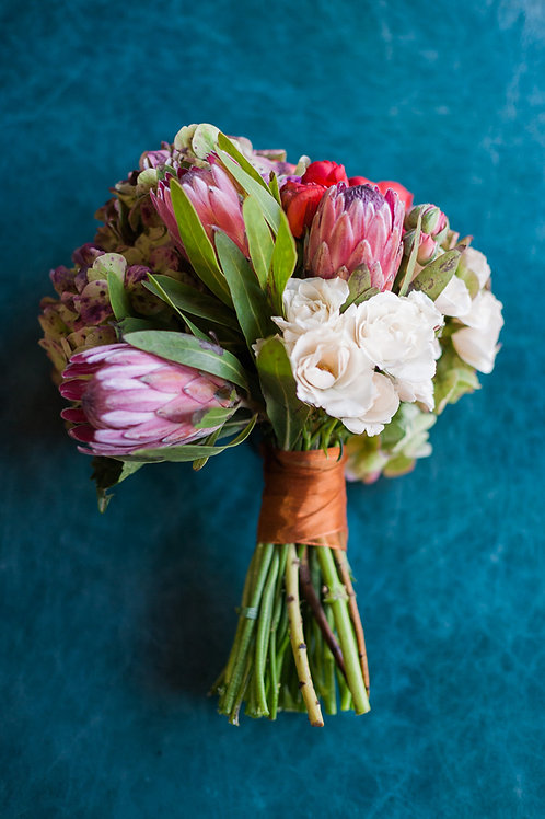Mixed Floral Bouquet | Vase or Wrapped