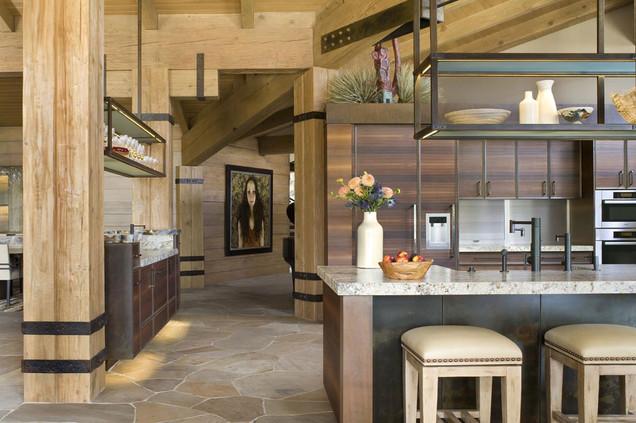 Mountain Modern Kitchen
