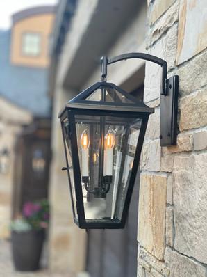 Custom Outdoor Light Fixtures