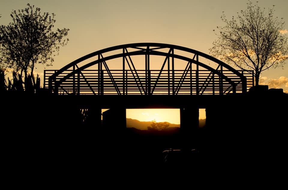 Evermore Park Train Bridge
