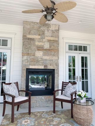 Indoor/Outdoor Fireplace