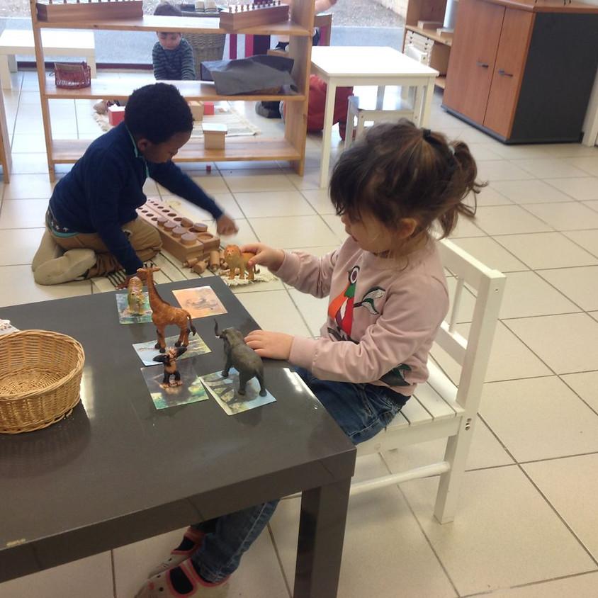 Stage Montessori pour les vacances d'hiver