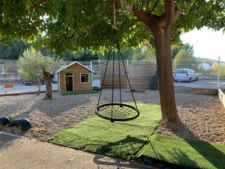 Rénovation de l'espace vert de l'école
