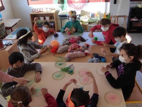 Atelier de tissage pour les 6-12 ans