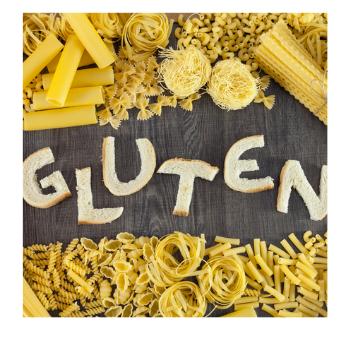 Decide si consumes gluten o no: (no es para celíacos)