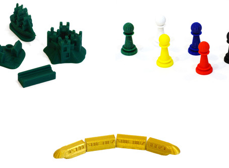 Board Game Parts Hit the Shelves