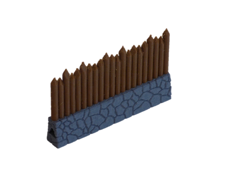 Modular Palisade Wall Segment