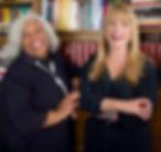 Marva Allen, CEO & Patrice Samara, COO,