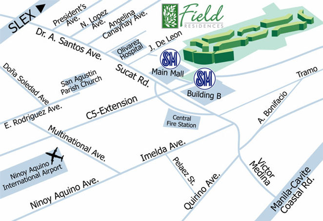 SMDC Field Residences Location
