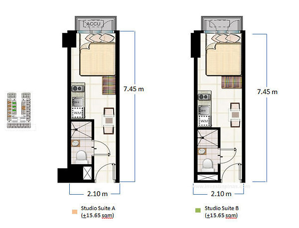 SMDC Green Residences Layout