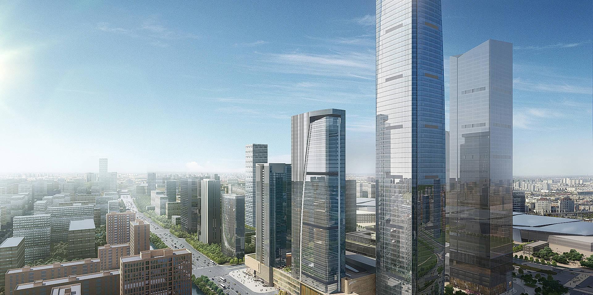 World Trade Center, Nanjing, China