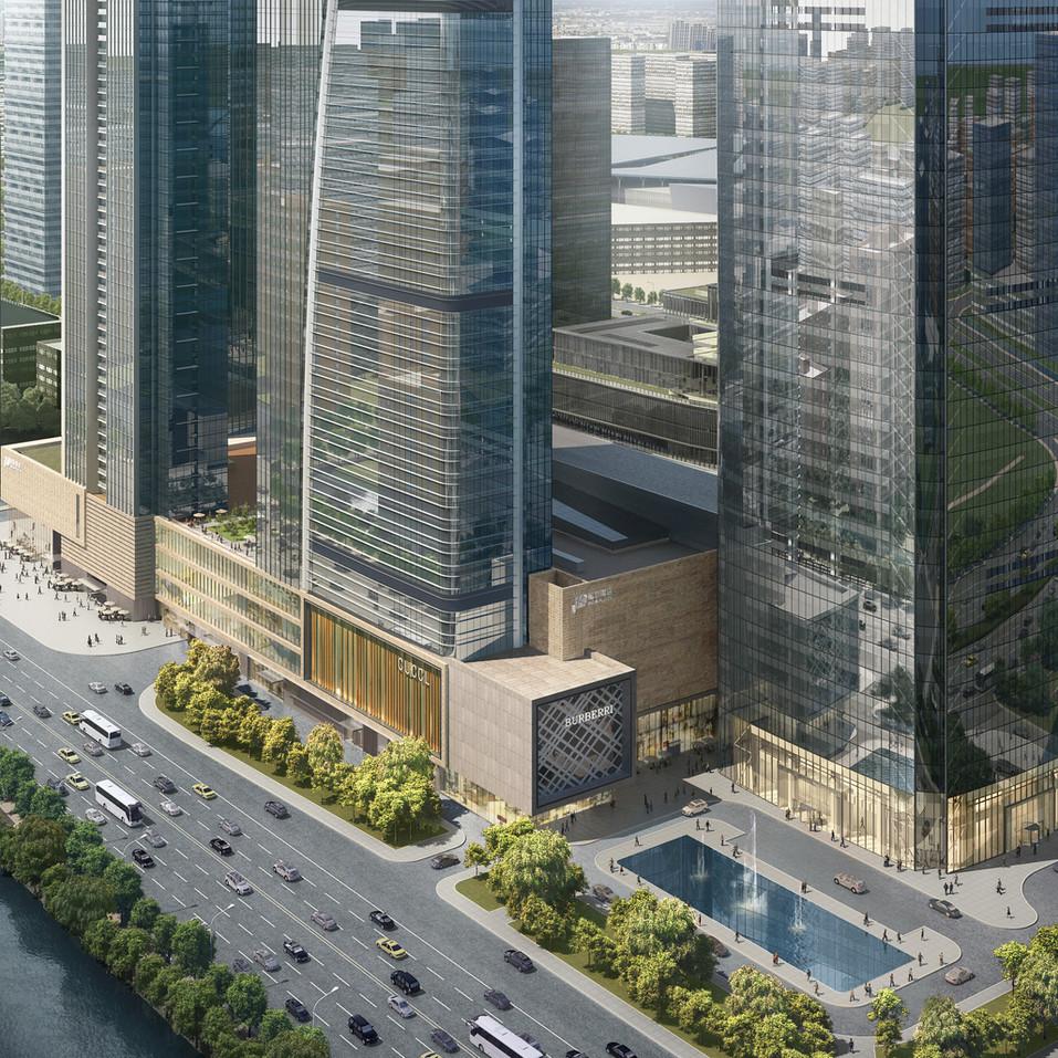 Nanjing World Trade Center (Retail Podium)