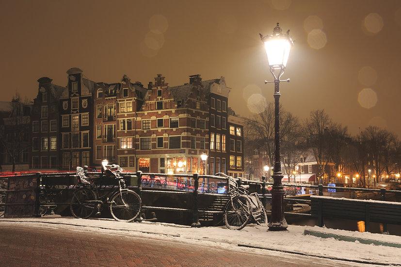 Prinsengracht Wintertime (2), Amsterdam
