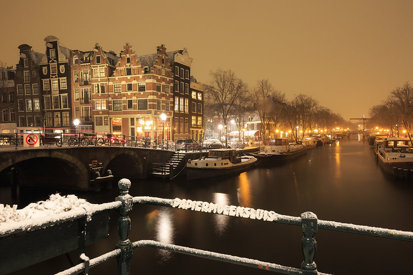 """Papiermolensluis"" Prinsengracht, Amsterdam"