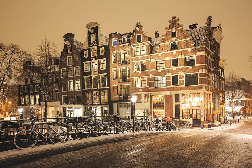 Prinsengracht Wintertime (3), Amsterdam