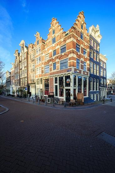 Amsterdam facades 2 at Prinsengracht