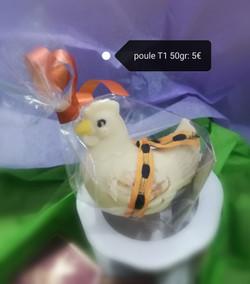 La Poule T1 50 gr