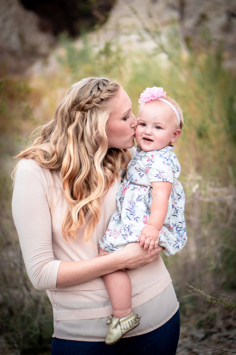 Mother and Daughter Photography In Utah County
