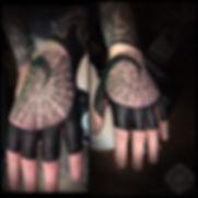 hand tattoo, dotwork tattoos, mandala tattoo, mandala hand tattoo