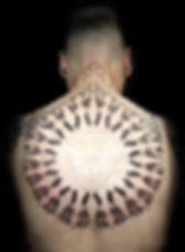 mandala tattoo, dotwork mandala tattoo, geometric tattoos, dotwork in london, tattoo studio near me, best dotwork in london, back tattoos, london tattooists, brighton tattoo artists, dotwork in goa, custom tattoo studios, vegan tattoos, best geometric tattoo artist in london