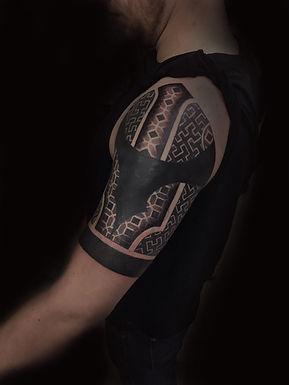 dotwork tattoo, mandala tattoo, chest tattoo, best dotwork in london, best dotwork in brighton, geometric tattoo artist in london, best geometric tattoo artist brighton, deity tattoo, custom tattoo artist near me, lgbtqi tattooist, dotwork in london, dotwork in brighton, cover up tattoos, chilandi pattern