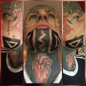 fae tattoos, blackwork face tattoo, blackwork tattoo