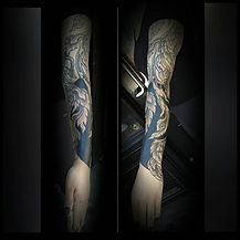 thai tattoo, ornamental sleeve, ornamental tattoos